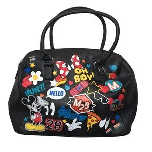 Loungefly Disney Mickey Mouse Satchel Tote Bag